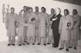 Novaresio con un gruppo di militari somali