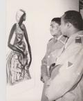 Militari somali al Padiglione dell'Artigianato (Sassari)