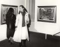 Visitatori all'inaugurazione della mostra alla Galleria Palmieri, Milano