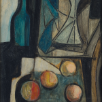 1.Natura morta 1950 olio su tavola 50x70