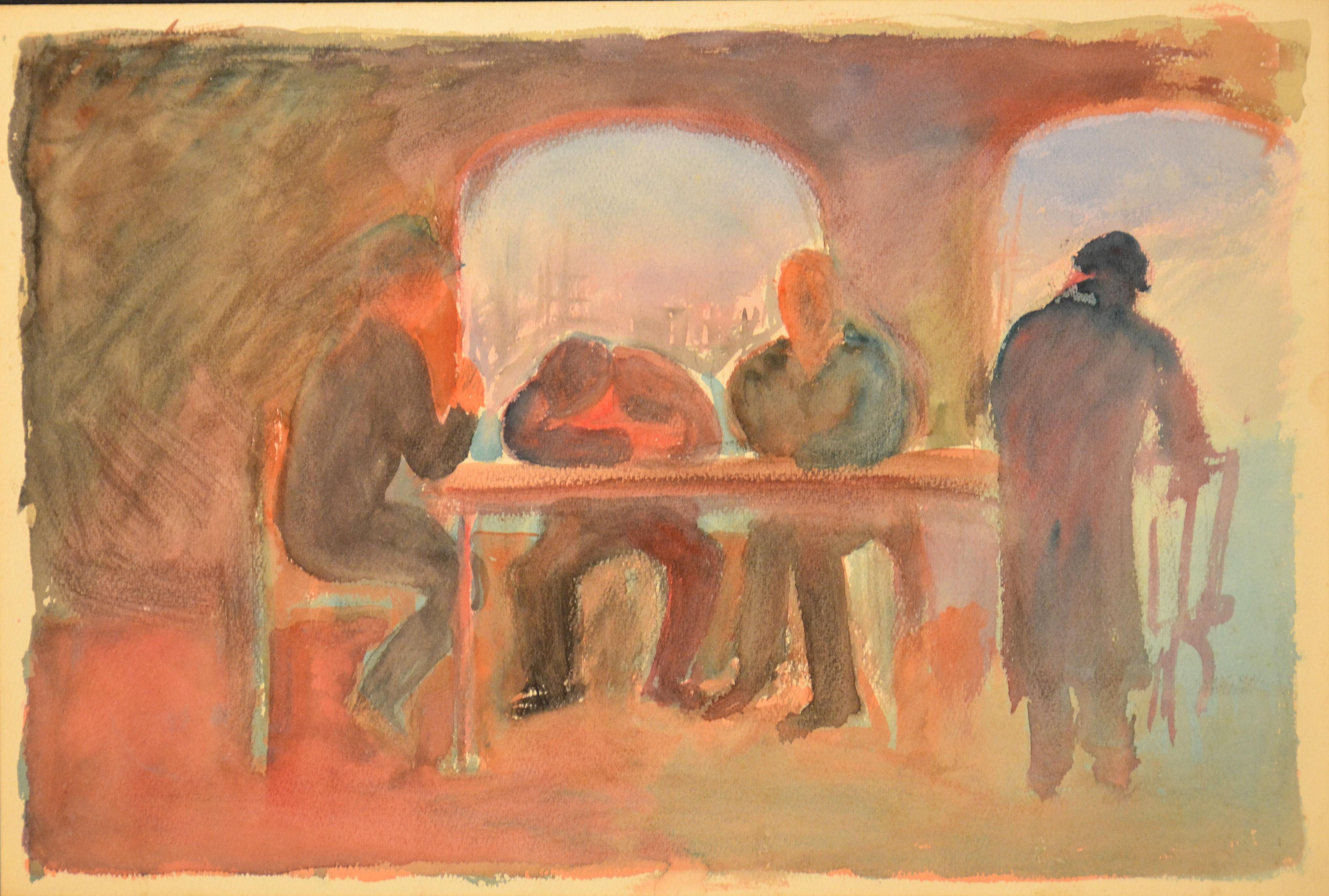 3. Taverna 1941 ca olio su tela cm 50x60