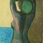 1. Donna della marina olio su tela cm 1