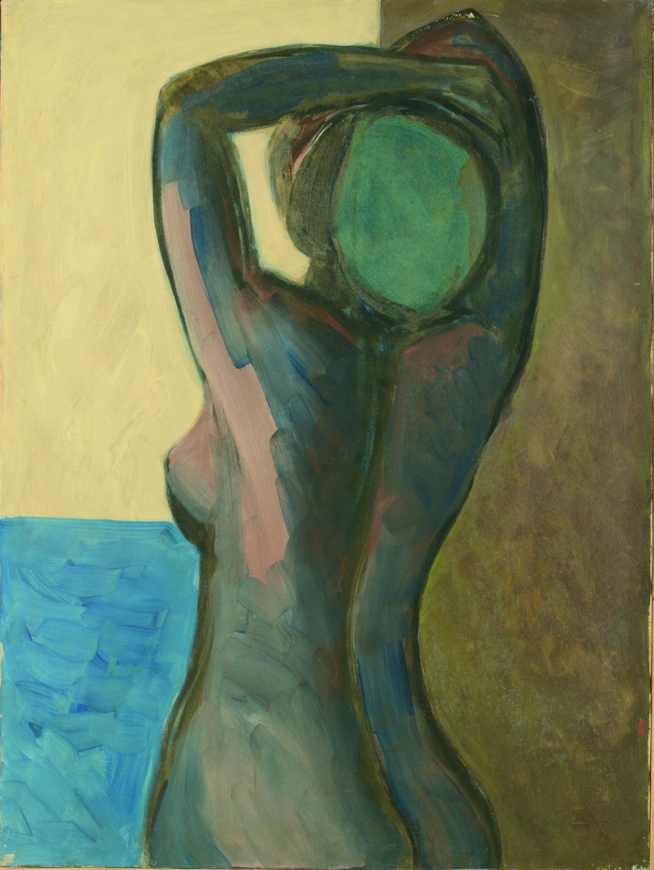 1. Donna della marina olio su tela cm