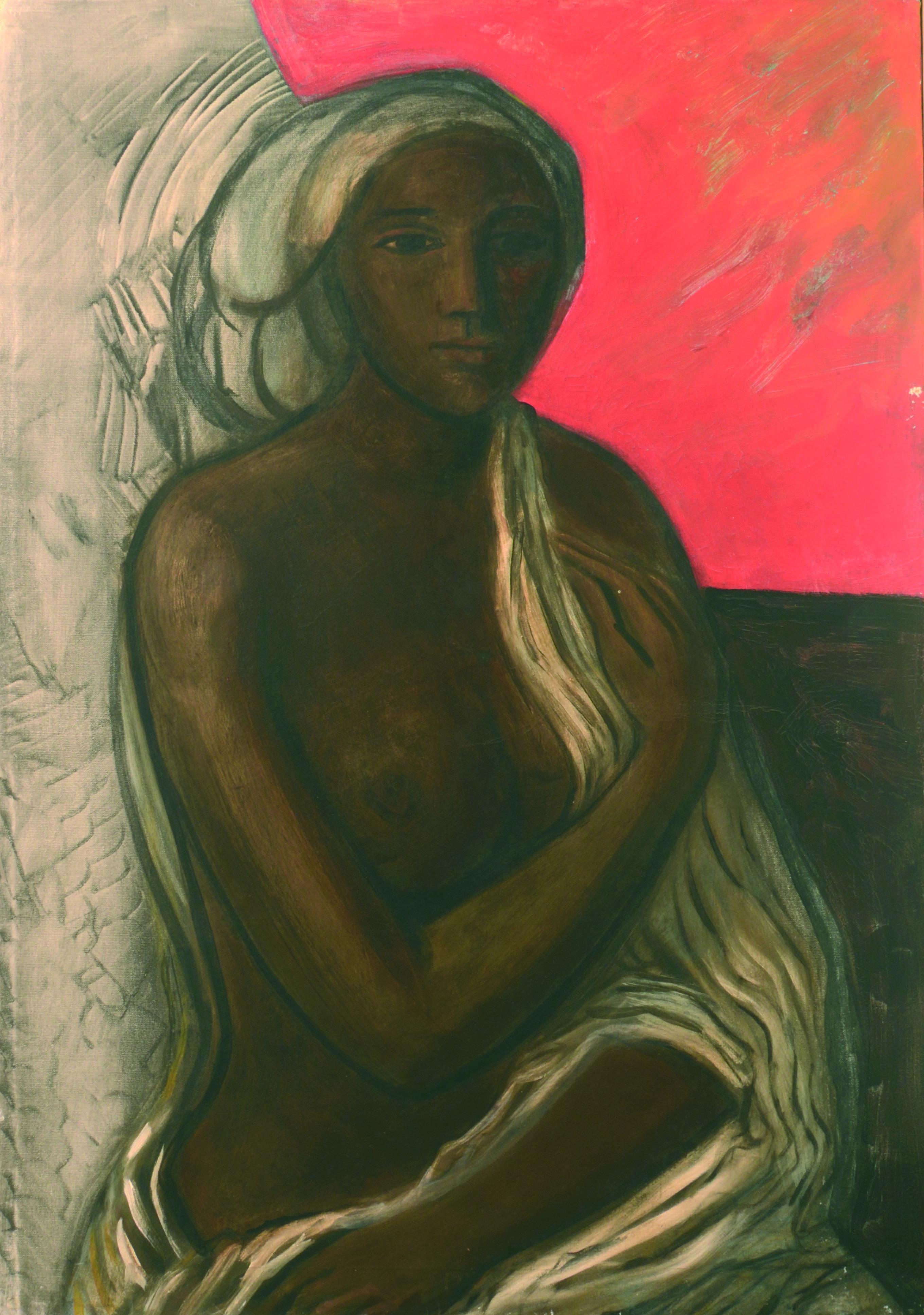 11Somala 1980 ca olio su tela cm 100 x 70 1